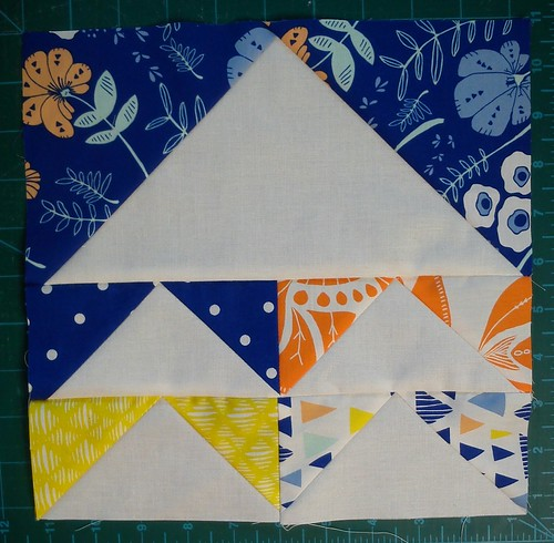 Tule Flying geese block