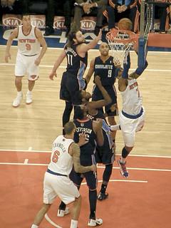 New York Knicks vs. Charlotte Bobcats 1.24.14