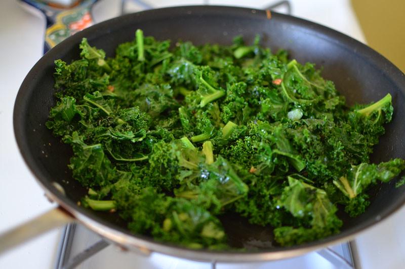 Peanut Soba Noodles with Kale and Edamame via LittleFerraroKitchen.com