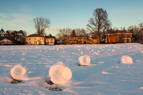 Snow rollers by andiwolfe