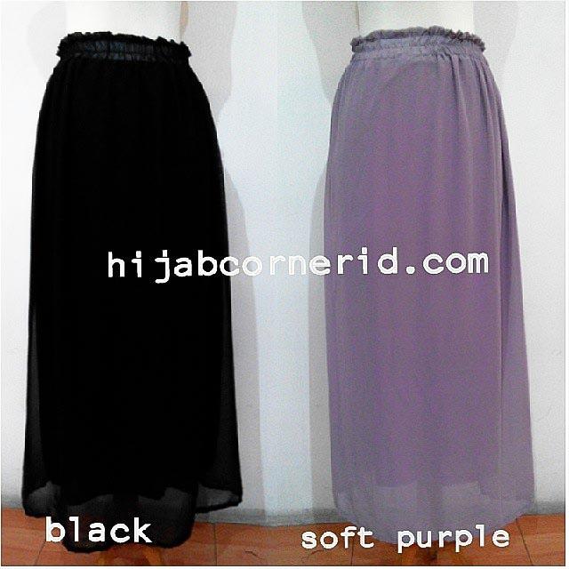 Basic Skirt Chiffon Hijabcornerid