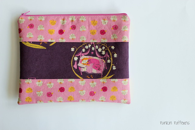 Far Far Away scrap pouch, side B