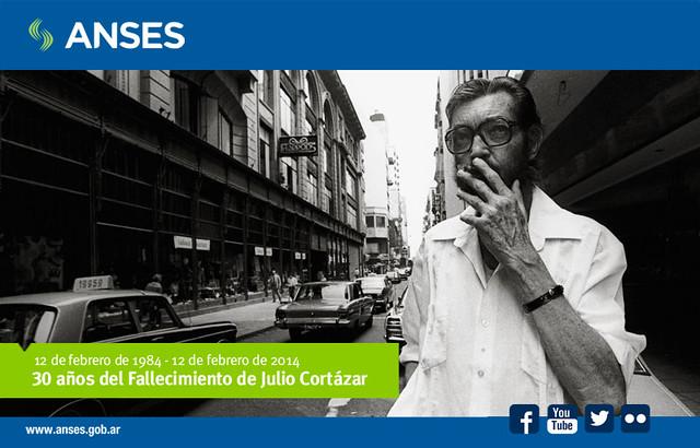 12 de febrero de 2014. 30 años del Fallecimiento de Julio Cortázar