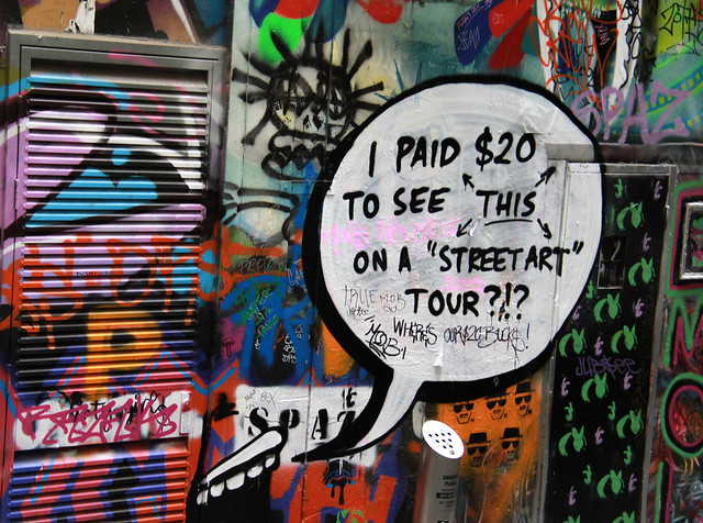 Snarky Street Art