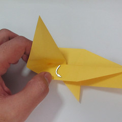 สอนวิธีพับกระดาษเป็นรูปลูกสุนัขยืนสองขา แบบของพอล ฟราสโก้ (Down Boy Dog Origami) 052