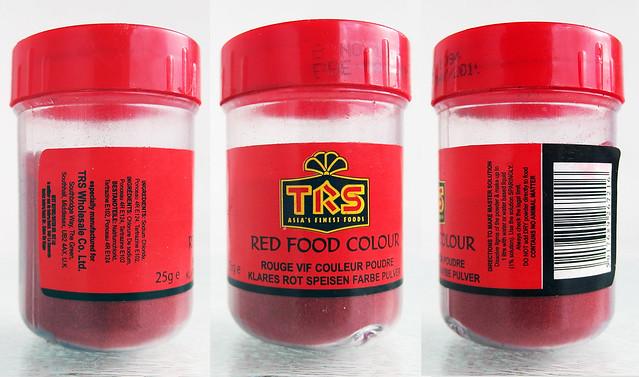 Rode kleur in Tandoori