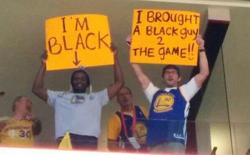 Black guys at games!