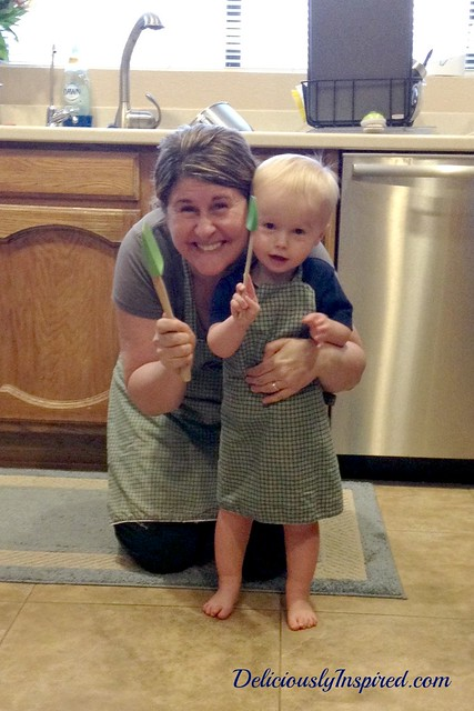 Green Aprons - 5-18-14 Debbie and Caden
