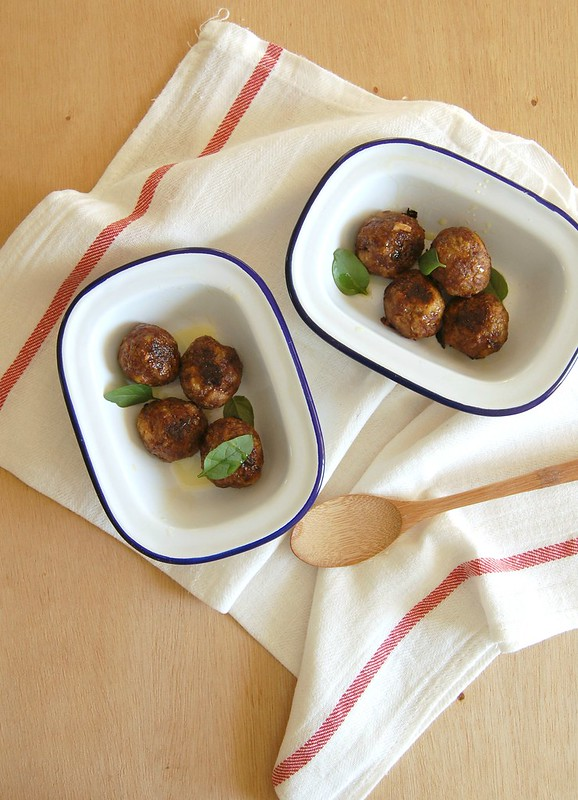 Leek meatballs / Almôndegas de carne e alho-poró