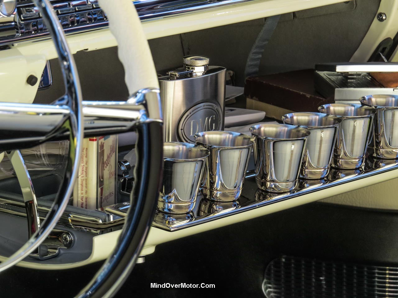 1957 Cadillac Eldorado Brougham Glasses