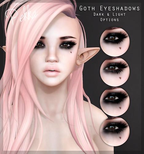 pekka goth eyeshadows