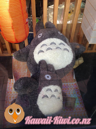 Kawaii Kiwi Japan City Wellington - Giant Totoro Plushies