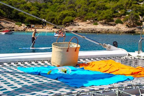 Catamarán Magic por la Bahía de Palma