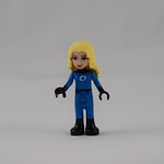 LEGO Super Friends Project Day 4 - Invisible Woman Sue Storm