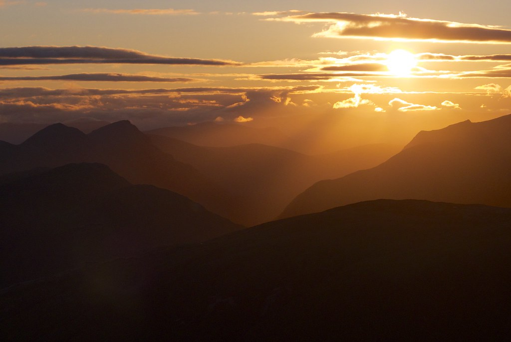Glen Etive sunrise