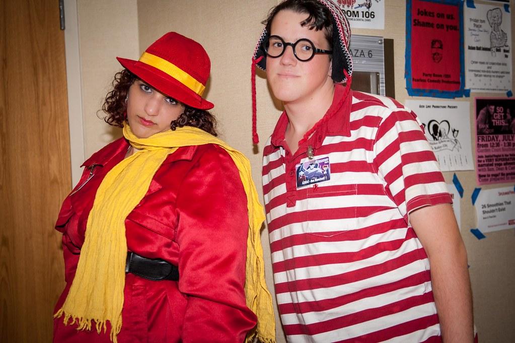 Carmen Sandiego and Waldo