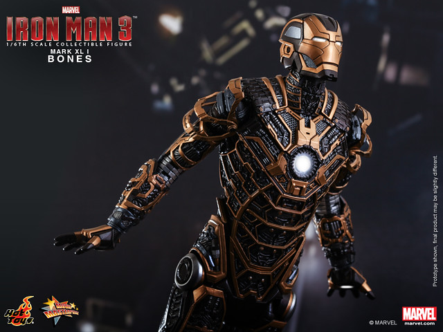 Hot Toys - Iron Man 3 - Bones (Mark XLI) Collectible Figure_PR10