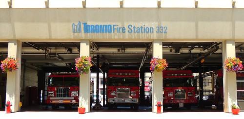 Toronto Fire Station / Firehouse #332 .... Toronto, Ontario
