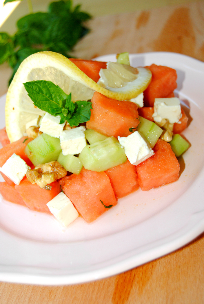 Go Cooking - Watermelon Light Salad (6)