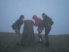Wet & Windy Helvellyn Summit Image