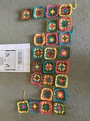 A bit of crochet.