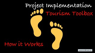 Tourism toolbox is  carried out through identified project implementations