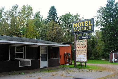 Motel Radisson, Radisson Wisconsin
