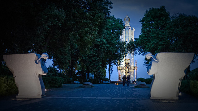 Memorial to Holodomor victims, Canon EOS 5D, Canon EF 50mm f/1.4 USM