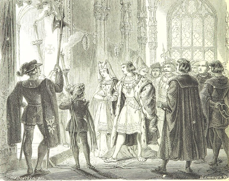 Marriage of Mary of Burgundy with Maximilian of Austria
