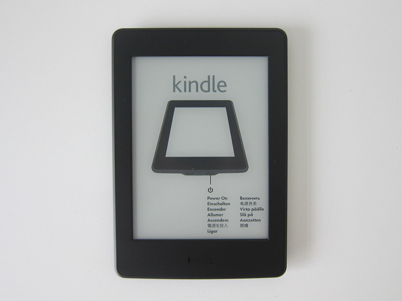 Kindle Paperwhite E-reader (2016) - Front