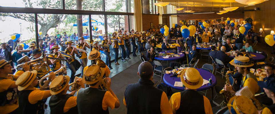 February 6, 2016 - 12:03pm - February 06, 2016; Berkeley, California, USA;  CAA Family Hoops Party at Alumni House. Photo credit: Kelley L Cox - KLC fotos for the California Alumni Association