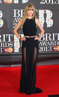 Taylor Swift Sheer Dress Celebrity Style Women's Fashion
