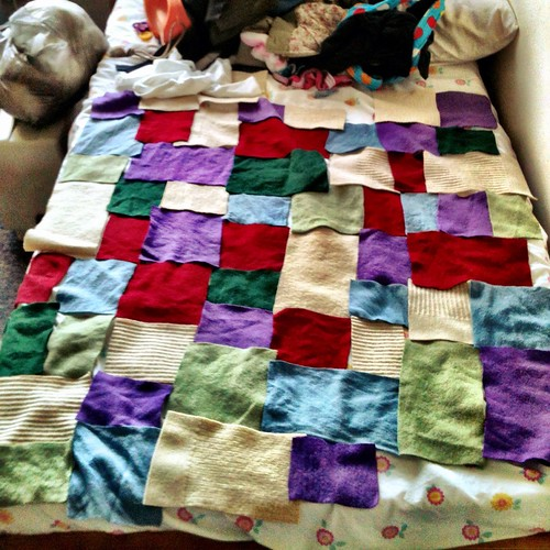 Blanket in the making.