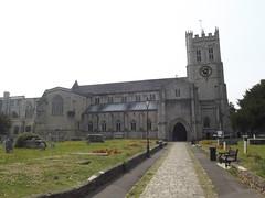 Photo of Priory Church, Christchurch blue plaque