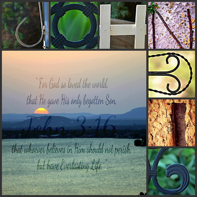 John 3:16 Collage from Flickr via Wylio