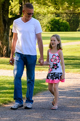 Father-Daughter Take a Walk Day