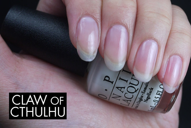 OPI Don't Touch My Tutu! Swatch