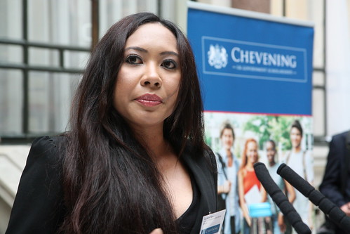 Farewell reception for 2012/13 Chevening Scholars