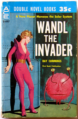 "1963 Ace Double Sc-Fi Paperback ""Wandl the Invader / I Speak for Earth"""