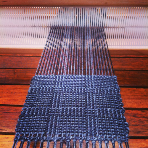 Weaving project 31: Panel 7