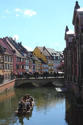 La Petit Venice, Colmar, Alsace, France
