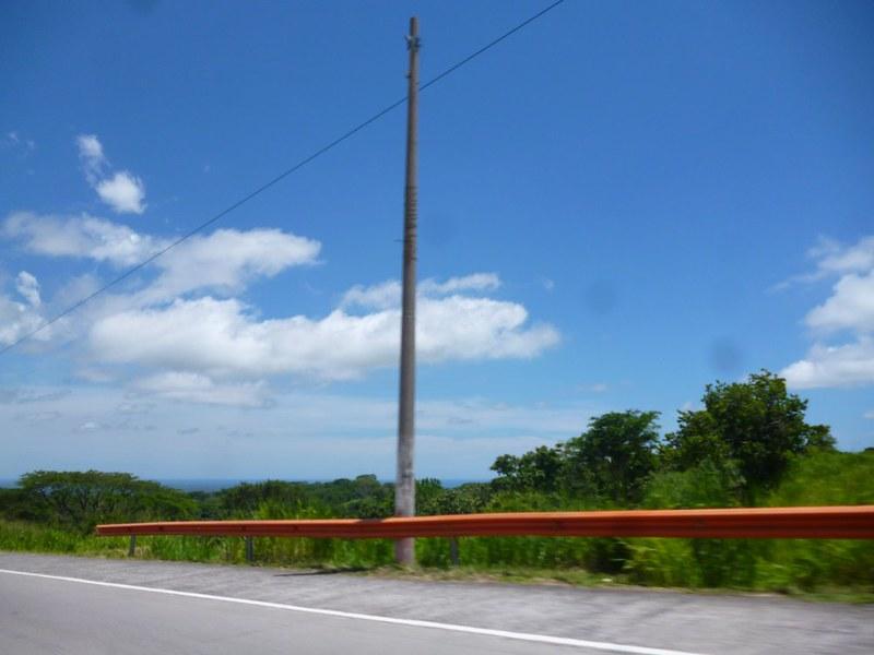 San Salvadorian sky