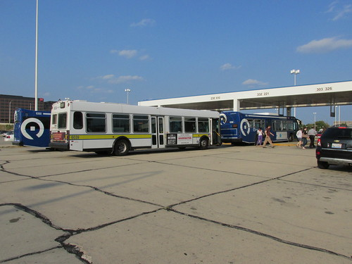 The Pace, Rosemont Transit Terminal on River Road.  Rosemont Illinois.  August 2013. by Eddie from Chicago