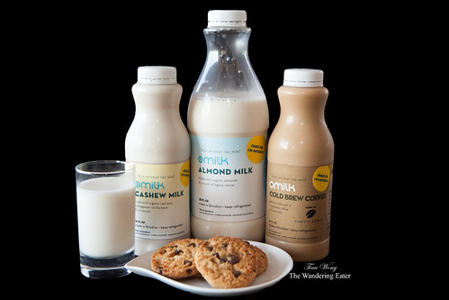 "Having ""milk"" (with OMilk) and cookies"