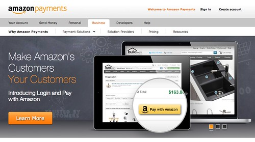 "Amazon launches ""Login and Pay with Amazon"""