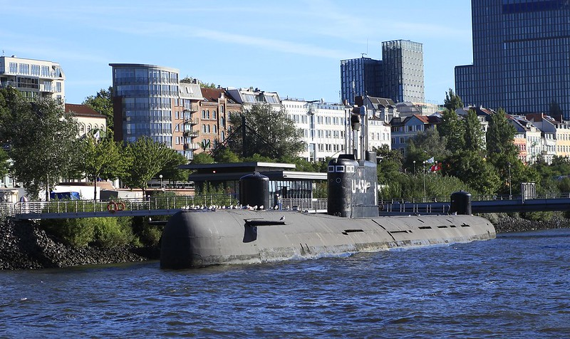 漢堡  蘇俄製潛水艇