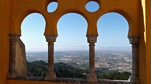 portugal landscape view balcony