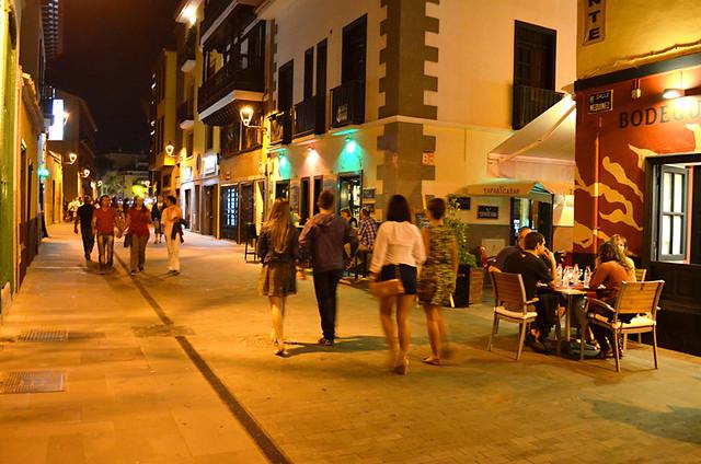 Ranilla, Noche en Blanco, Puerto de la Cruz, Tenerife