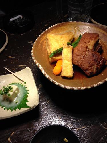 豆腐ようとラフテー