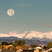 Moonset Over The Rockies (Explore #284)